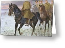 General John J Pershing  Greeting Card by Jan van Chelminski