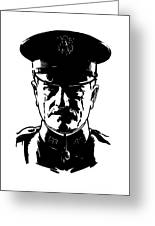 General John Pershing Greeting Card