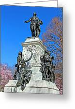 General Lafayette Memorial In Lafayette Square Greeting Card