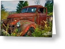 General Motors Truck Greeting Card