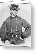 General Sheridan Civil War Portrait Greeting Card