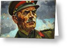 General Sir Alan Cunningham Greeting Card