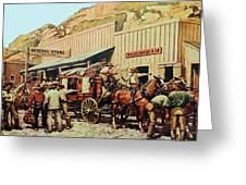 General Store Greeting Card