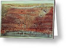General View Of Philadelphia Greeting Card