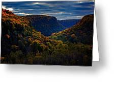 Genesee River Gorge Greeting Card