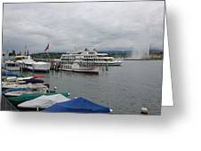 Geneva Lake Greeting Card