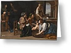 Genoese School Greeting Card