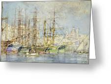 Genoese Shipping Greeting Card