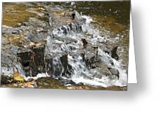 Gentle Falls Greeting Card
