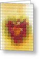 Gentle Glass Heart Greeting Card