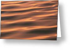Gentle Morning Waves Greeting Card