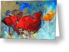 Gentle Poppies Greeting Card