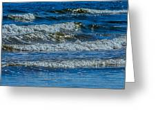 Gentle Roll Of The Waves Greeting Card