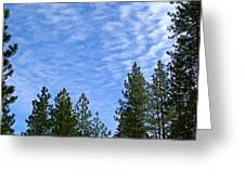 Gentle Sky Greeting Card
