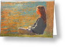 Gentle Sunshine Greeting Card