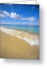 Gentle Waves Rolling Greeting Card