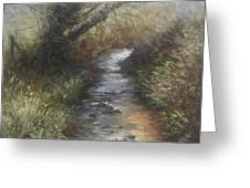 Gently Flowing Greeting Card