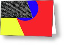 Geo Shapes 4a Greeting Card