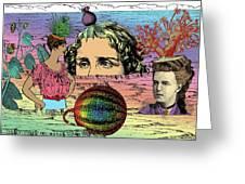 Geobotanical Fashions Greeting Card