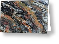 Geologica II Greeting Card by Julian Perry