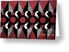 Geometric 4 Greeting Card
