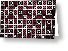 Geometric 7 Greeting Card