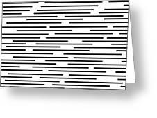 Geometric Art 276 Greeting Card