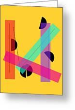 Geometric Art 419 Greeting Card