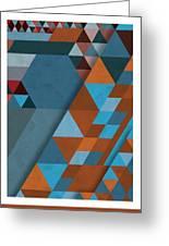 Geometric Beginnings Greeting Card