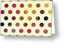 Geometric Dots Greeting Card