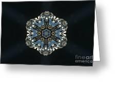 Geometric Glass Reflection Greeting Card