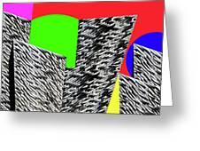 Geometric Shapes 4 Greeting Card