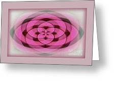 Geometrical Colors And Shapes 4 - Hearts Greeting Card