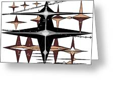 Geometricstars Greeting Card
