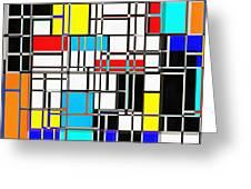 Geometrix Greeting Card