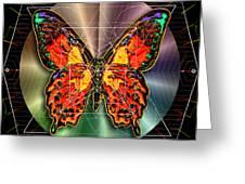 Geometron Fyr Lepidoptera Greeting Card