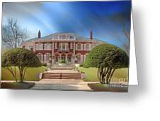 George C Greer House  Greeting Card