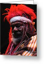 George Clinton Of Parliament Funkadelic Greeting Card