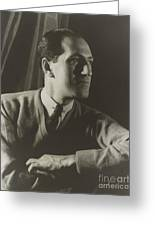 George Gershwin, American Composer Greeting Card