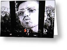 George Michael Sends A Kiss Greeting Card