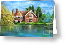 George Michaels Estate In Goring,england Greeting Card