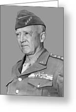 George S. Patton Greeting Card