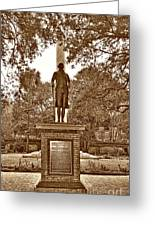 George Washington, Charleston,sc Greeting Card