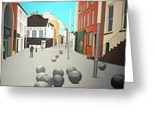 George's Street, Waterford Greeting Card