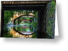 Georgetown Canal Bridges Greeting Card