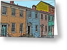 Georgetown Row Greeting Card