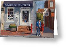 Georgetown Tee's Greeting Card