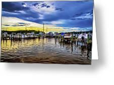 Georgetown Yacht Basin Greeting Card