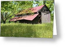 Georgia Barn Greeting Card
