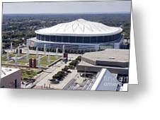 Georgia Dome In Atlanta Greeting Card